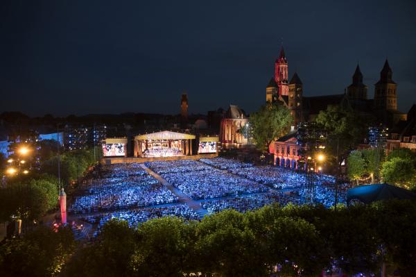 Concert Andre Rieu op het Vrijthof